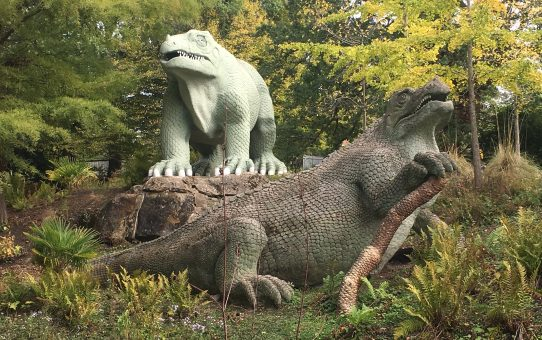 #SciFri: Why we should be more proud of the Crystal Palace Dinosaurs