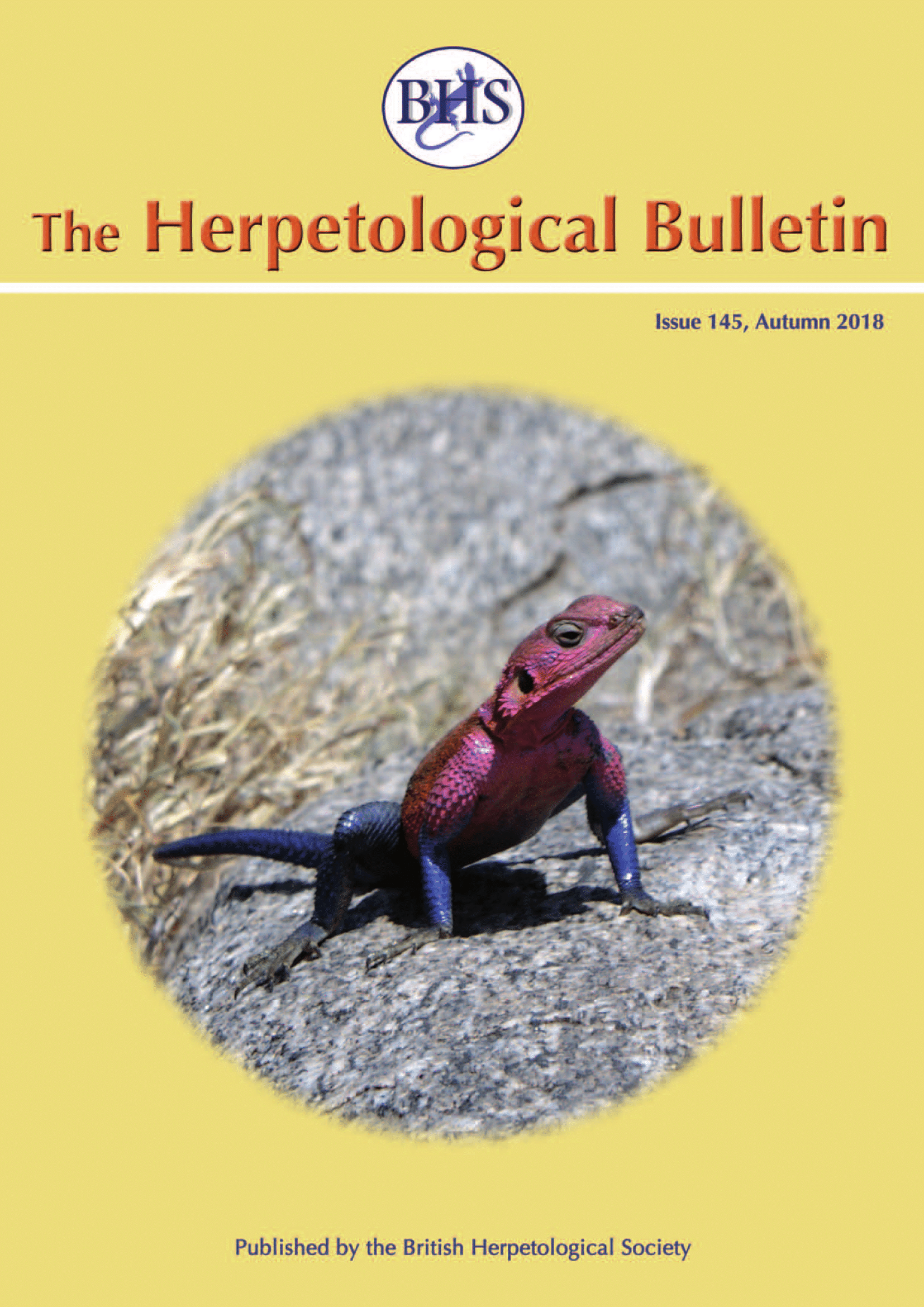 The Herpetological Bulletin Issue 145